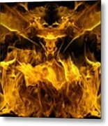 The Heat Of Passion Metal Print