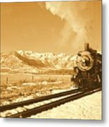 The Heber Creeper Metal Print