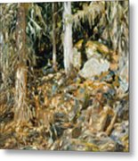 The Hermit. Il Solitario Metal Print