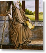 The Hermit Nascien Metal Print