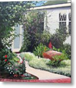 The Hidden Garden Metal Print