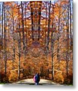 The Hidden Path Revealed Metal Print