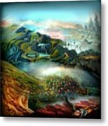 The Highkingdom Of Loch Lein Aka Hesperidean Avalon Metal Print