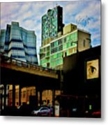 The Highline Nyc Metal Print