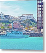 The Hill In Puerto Penasco In Sonora-mexico   Metal Print