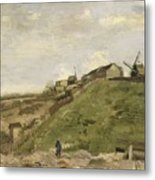 The Hill Of Montmartre With Stone Quarry 2 Metal Print