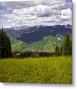 The Hills Are Alive In Vail Metal Print