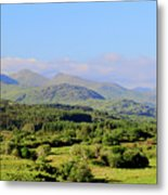 The Hills Of Southern Ireland Metal Print