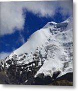 The Himalayas Tibet Yantra.lv 2016  Metal Print