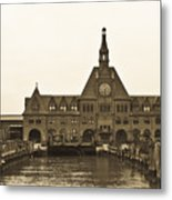 The Historic Crrnj Train Terminal Metal Print