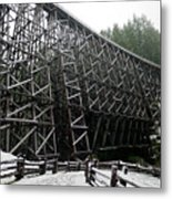 The Historic Kinsol Trestle 3. Metal Print