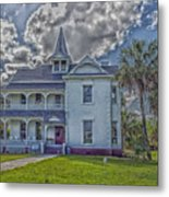 The Historic Rabb Plantation Home Metal Print