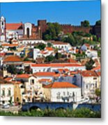 The Historic Town Of Silves In Portugal Metal Print