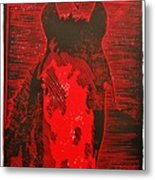 The History Of Fear Metal Print