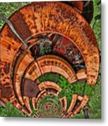 The Hitchhiker Metal Print by Wendy J St Christopher