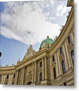 The Hofberg In Vienna Metal Print