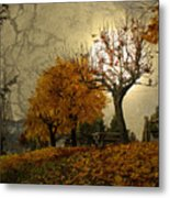 The Holder Of Light Metal Print