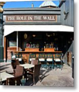 The Hole In The Wall Metal Print