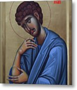 The Holy Apostle And Evangelist John The Theologian Metal Print