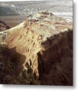 The Holy Land: Masada Metal Print