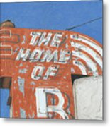 The Home Of R Metal Print