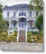 The Homes Of Mackinac Island Michigan 04 Pa Metal Print