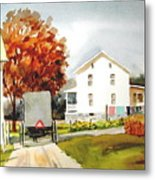 The Homestead Metal Print