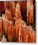 The Hoodoos In Bryce Canyon Metal Print