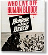 The Horror Of Party Beach, 1964 Metal Print