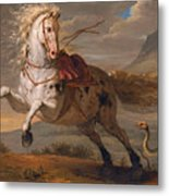 The Horse And The Snake Metal Print