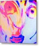 The Horse Is In Me And In You  Metal Print