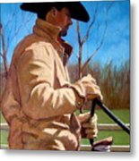 The Horse Trainer No. 2 Metal Print