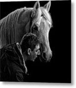 The Horse Whisperer Extraordinaire Metal Print