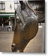 The Horses Head Metal Print