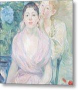The Hortensia Metal Print by Berthe Morisot