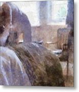 The Hotel Room By Mary Bassett Metal Print