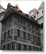 The House At The Minute Metal Print