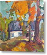 The House In Chervonka Village Metal Print