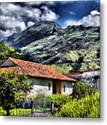 The House In The Valley Metal Print