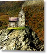 The House Time Forgot Color Metal Print