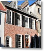 The Houses Of Charleston Metal Print