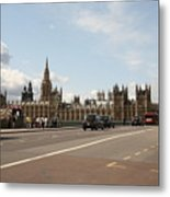 The Houses Of Parliament. Metal Print