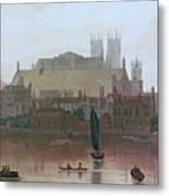 The Houses Of Parliament Metal Print