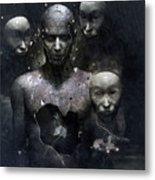 The Human In Me Metal Print