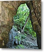 The Ice Cave Metal Print