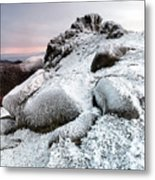 The Ice Queen Returns, North Tor Slieve Bearnagh Metal Print