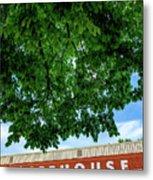 The Icehouse - Bentonville Market District Metal Print