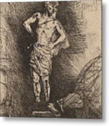 The Image Seen By Nebuchadnezzar Metal Print