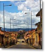 The Inca Trail Passes Through Cuenca II Metal Print