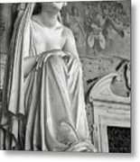 The Inconsolable Statue At Pisa Metal Print